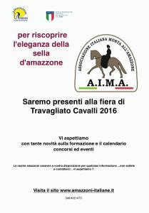 AIMA vi aspetta a Travagliato Cavalli 2016! ESCAPE='HTML'
